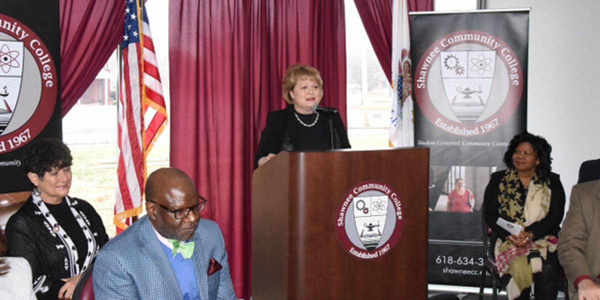 Shawnee Community College's grand opening of Cairo extension center