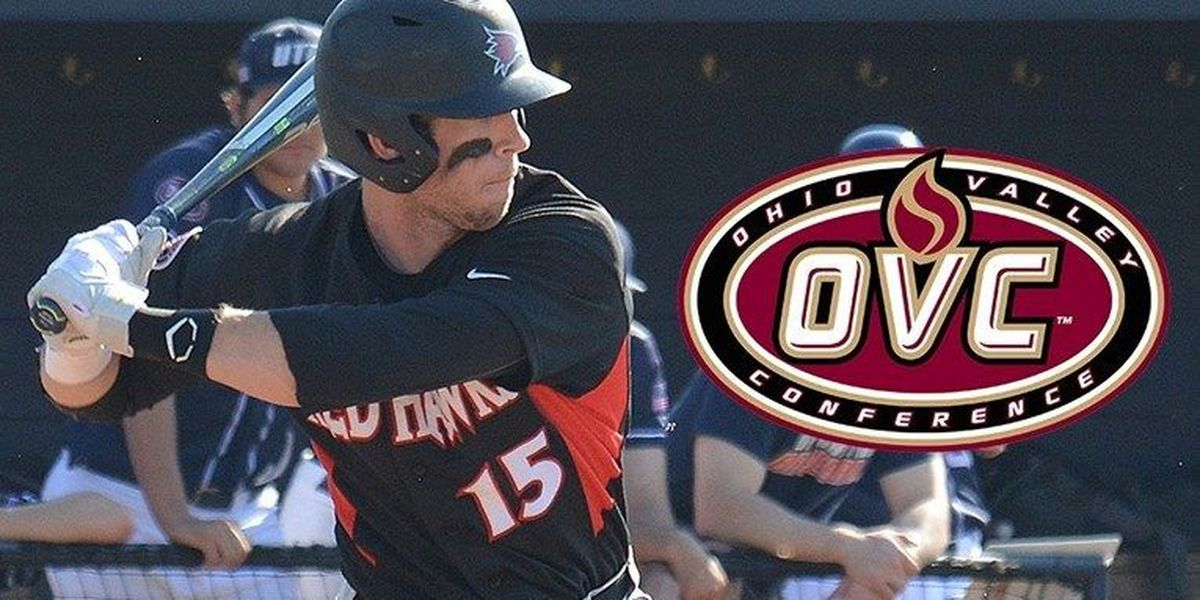 Redhawks baseball player named OVC Player of the Week