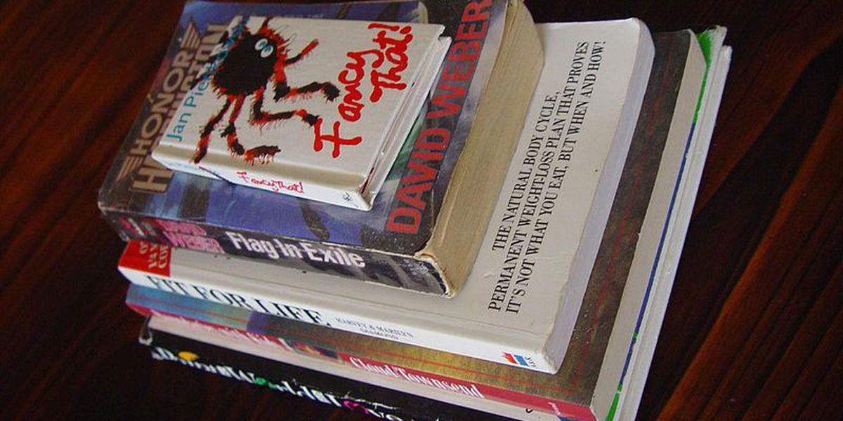 Donate your unwanted books for a good cause