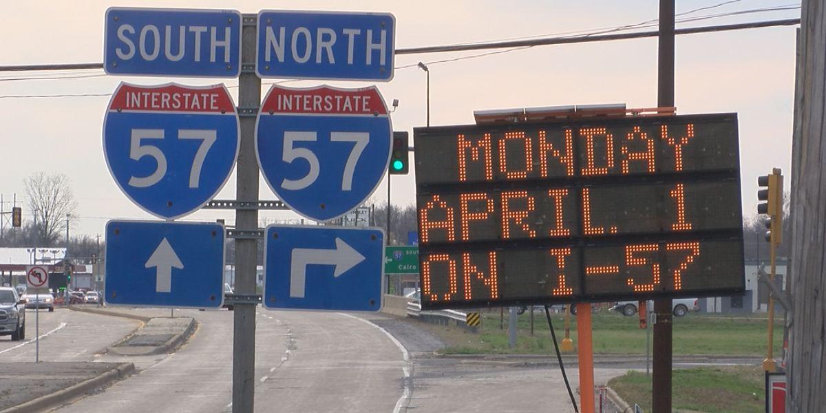 IDOT adding additional NB, SB lane to I-57