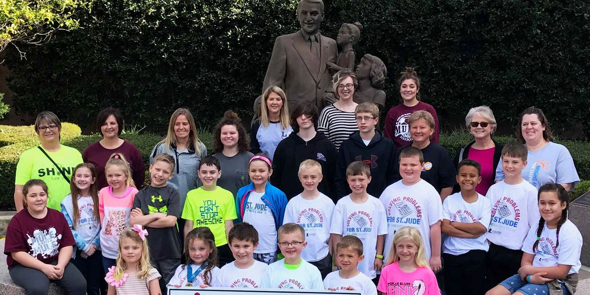 Poplar Bluff elementary students get closer to fund raising milestone