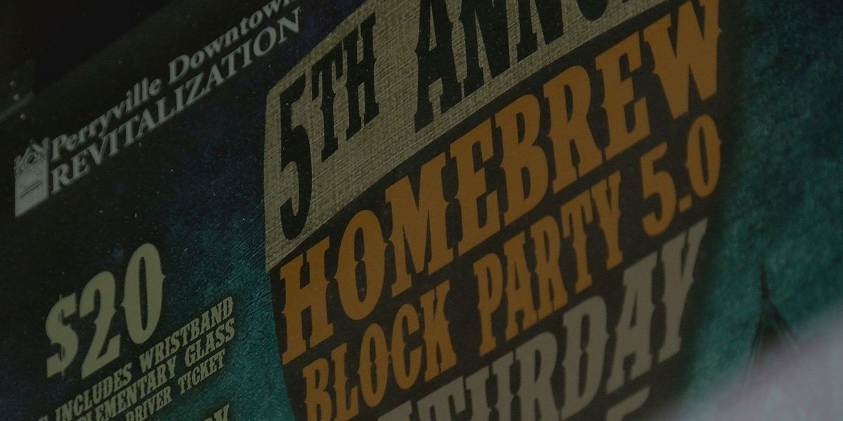 Home Brew Block Party taking over Perryville