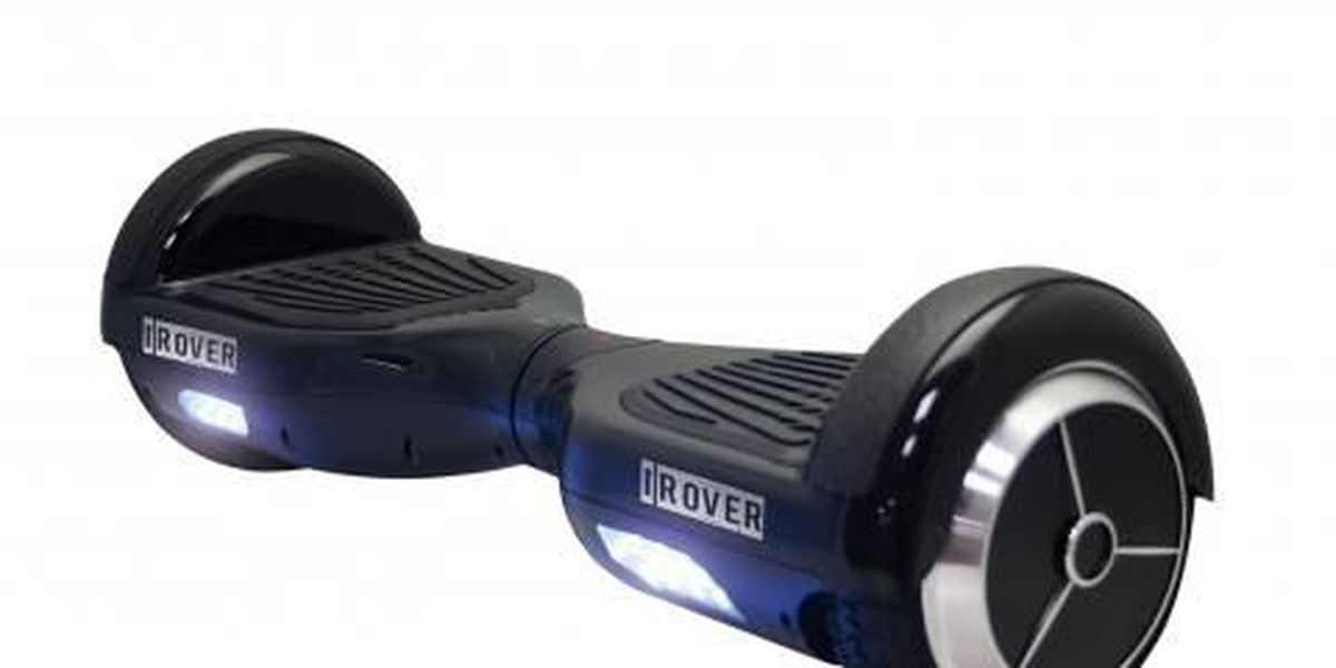 Hoverboards recalled due to fire hazard