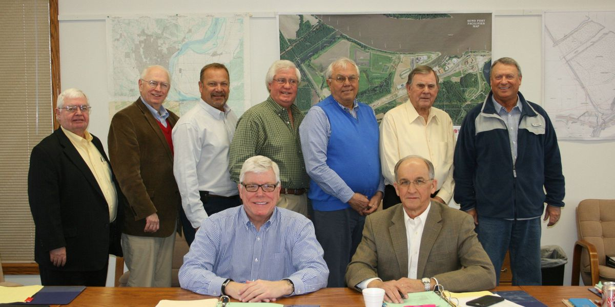 Kinder meets with SEMO Port Authority