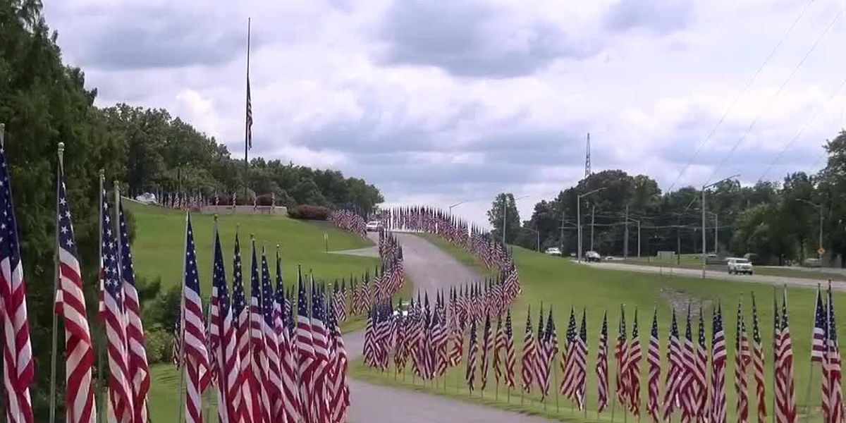 Man who started Avenue of Flags honored on Flag Day in Cape Girardeau