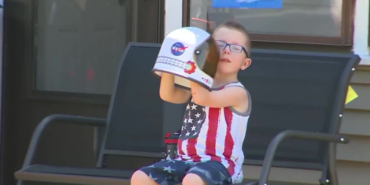 Mass. boy gets birthday phone call from International Space Station