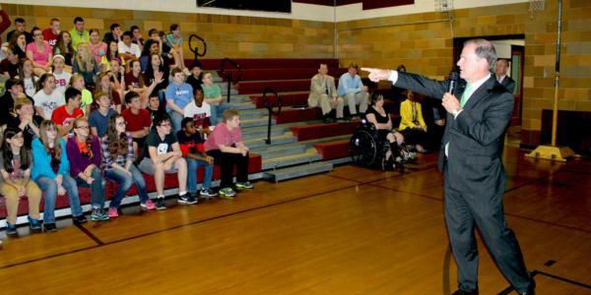 Show Me Value Tour stops at Poplar Bluff Jr. High School