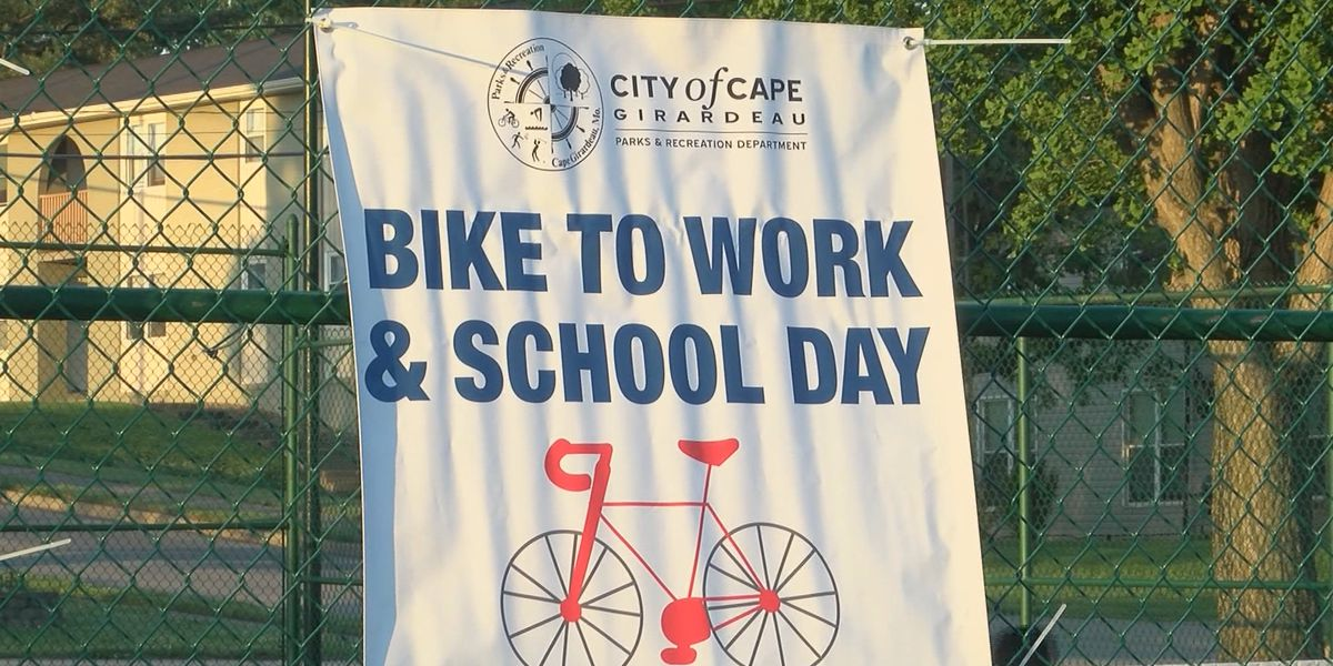 Bike to Work and School event held in Cape Girardeau