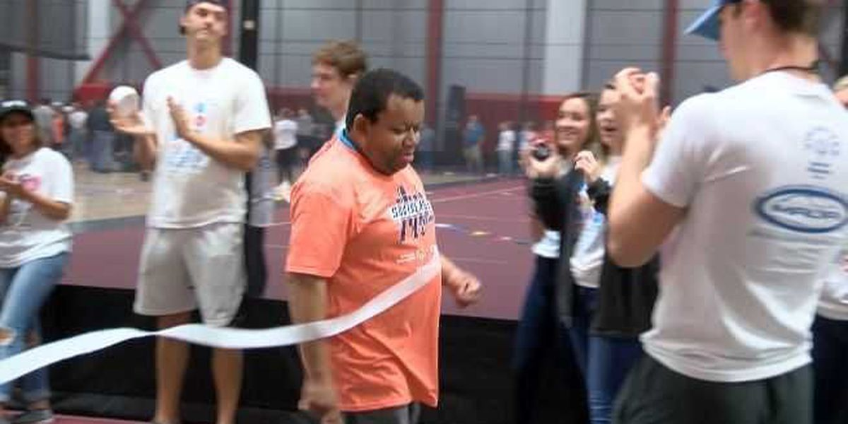 Athletes compete in Special Olympics Spring Games