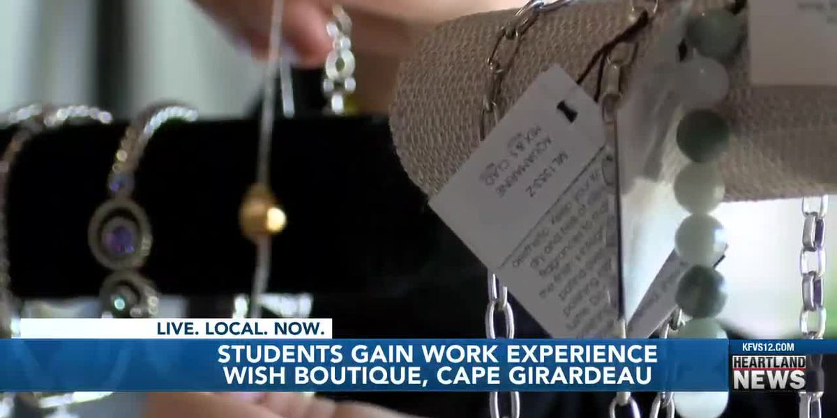 Students gain work experience wish boutique