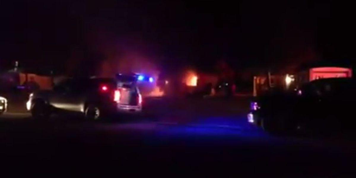 Suspicious mobile home fire under investigation in Miner