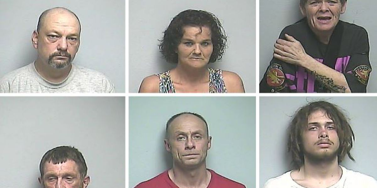 6 arrested during 3 drug investigations in McCracken County, KY