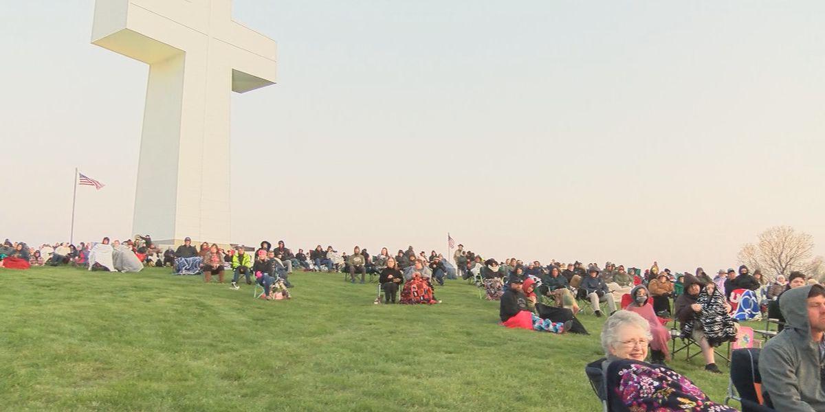 Bald Knob Cross of Peace hosts 85th Easter Sunrise Service