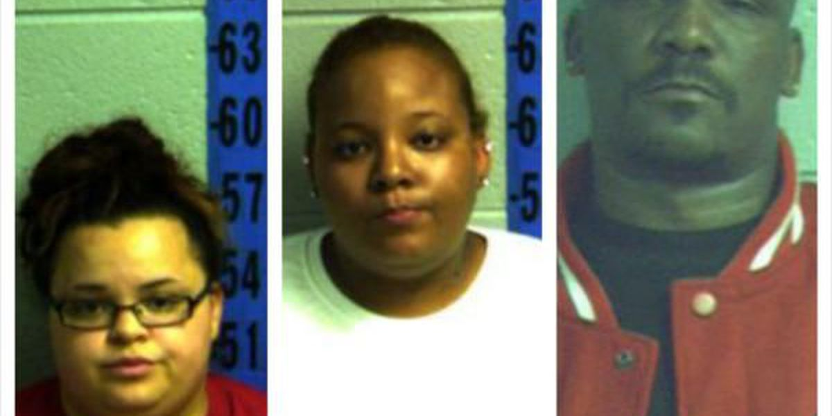 3 charged after search warrant executed for stolen property