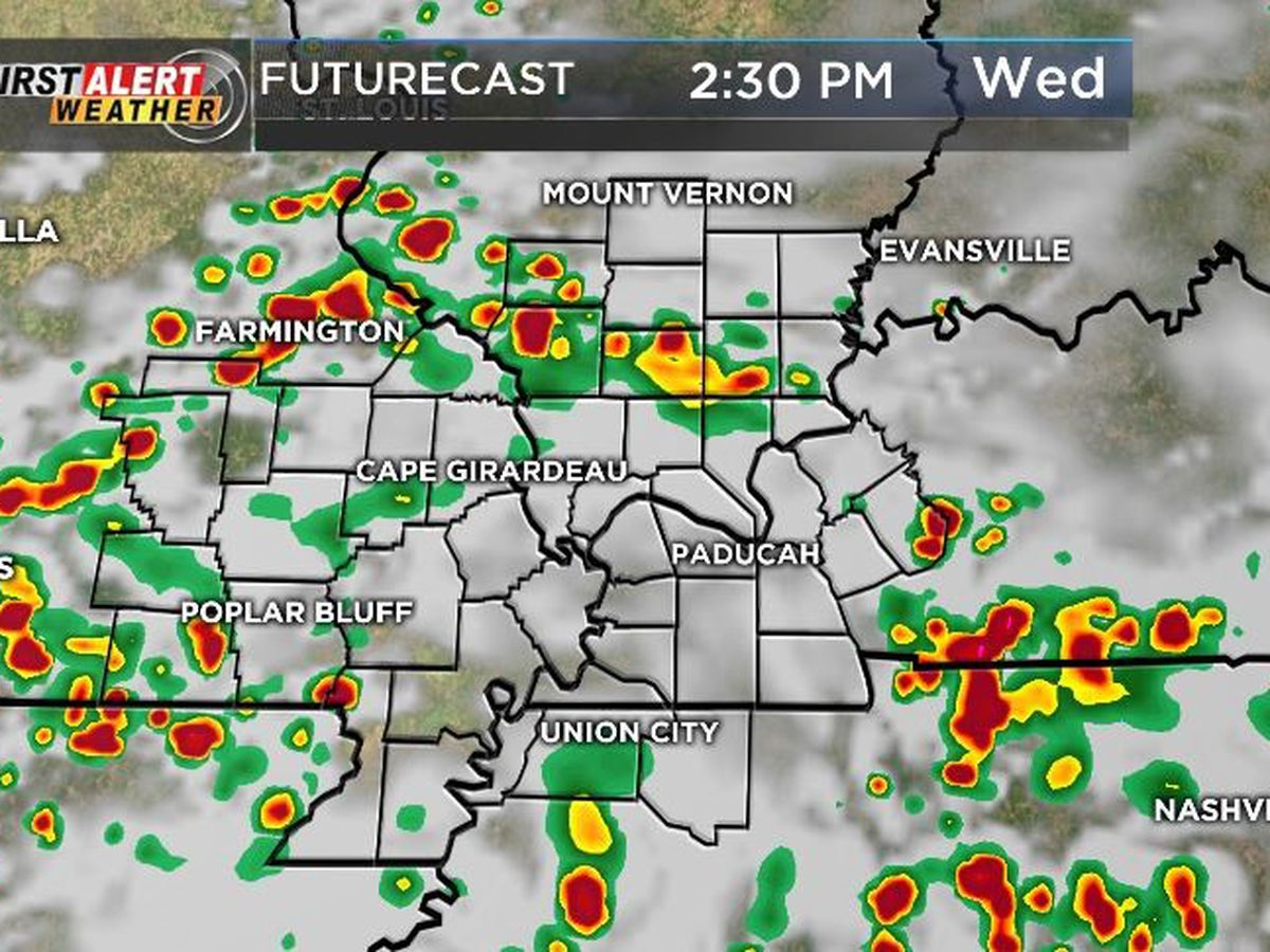 First Alert: Chances of rain continues