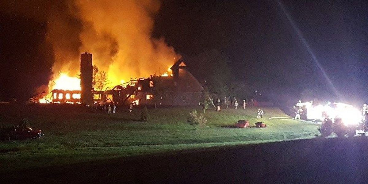6 fire departments respond to Cape Girardeau fire