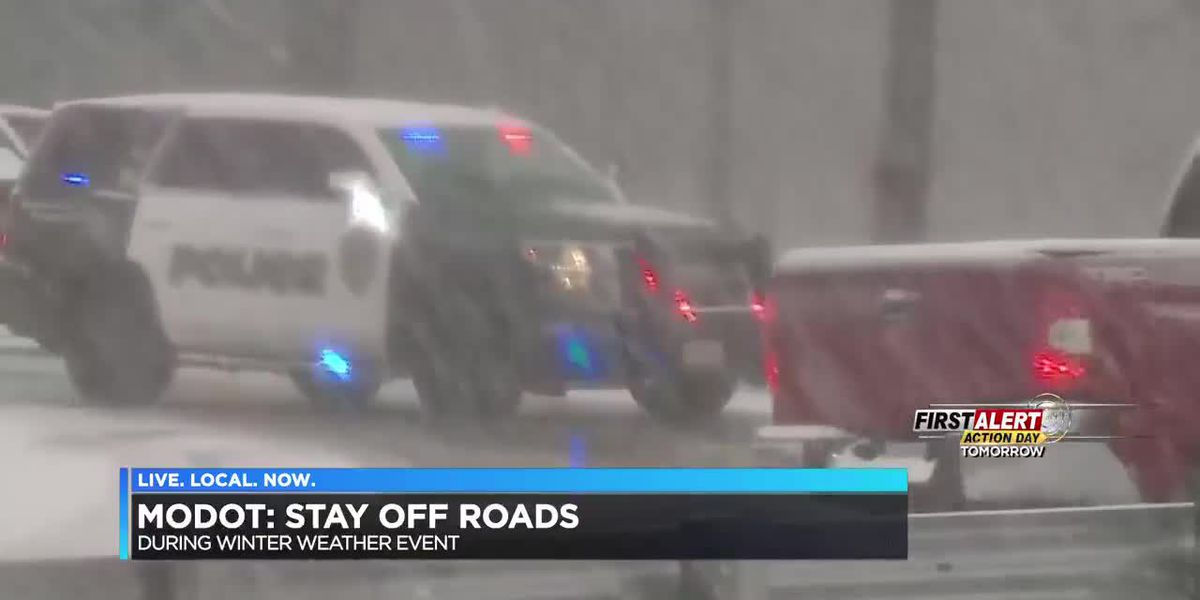 MoDOT says to stay off the roads during weekend weather event