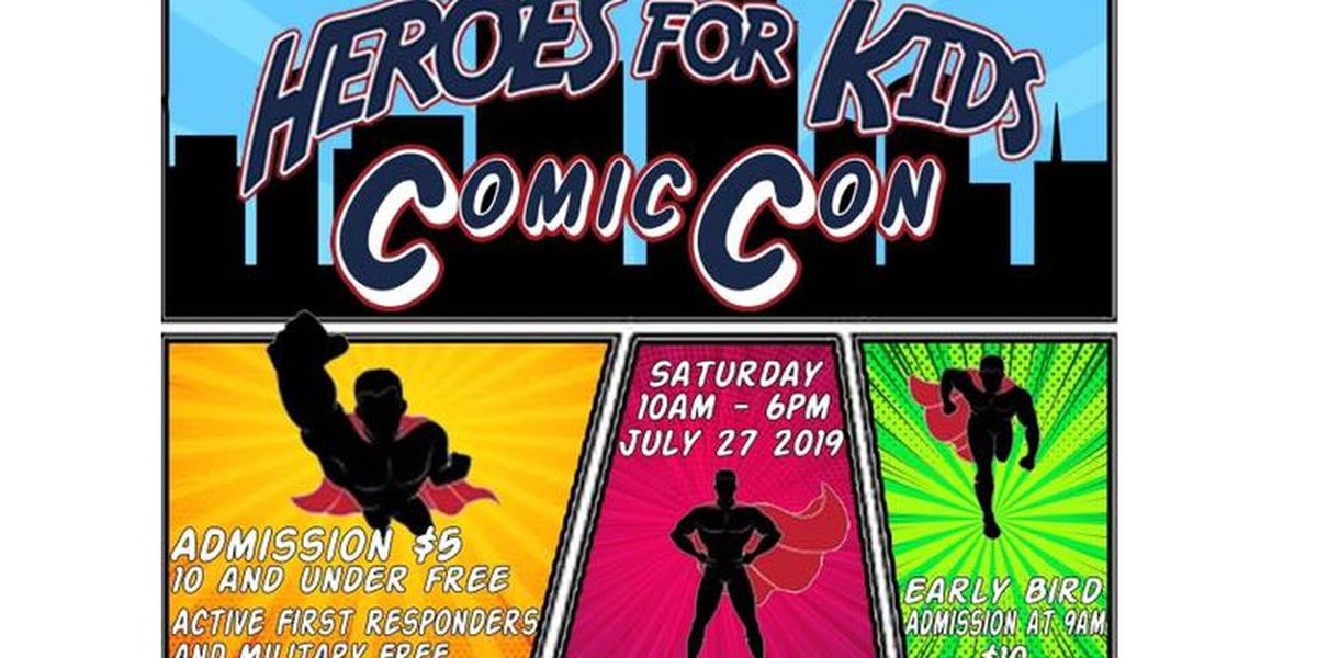Perryville to host 'Heroes for Kids' Comic Con