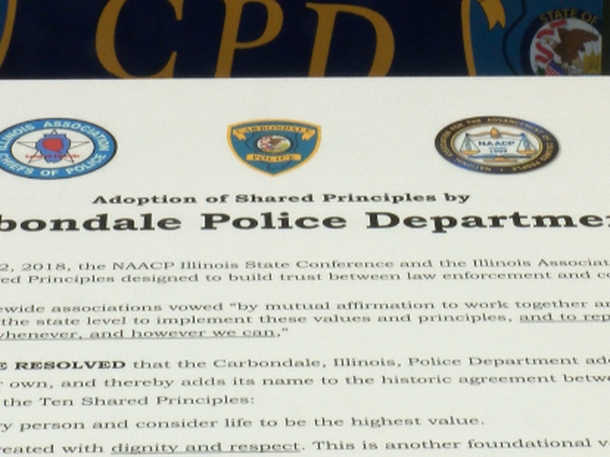 NAACP, Carbondale PD meet to talk about 10 shared principles