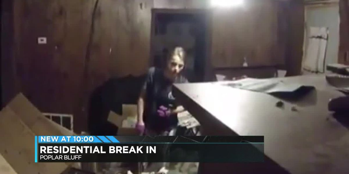 Poplar Bluff residential break in