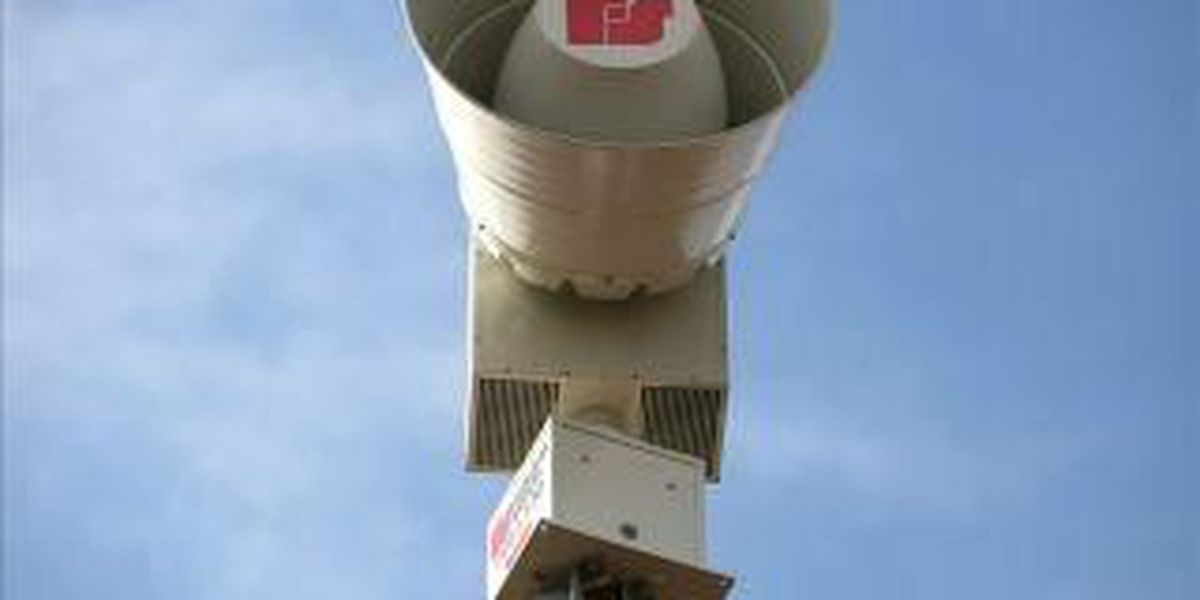 Equipment malfunction causes tornado sirens to go off in Perryville