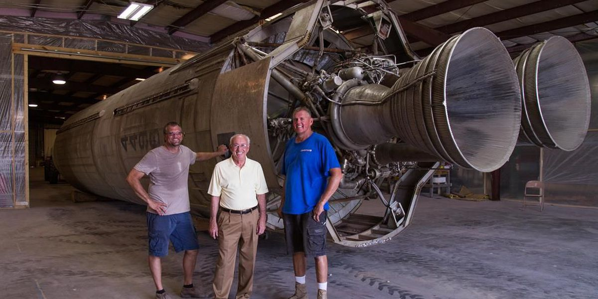 Titan One Missile Arrives at Discovery Park of America in Union City