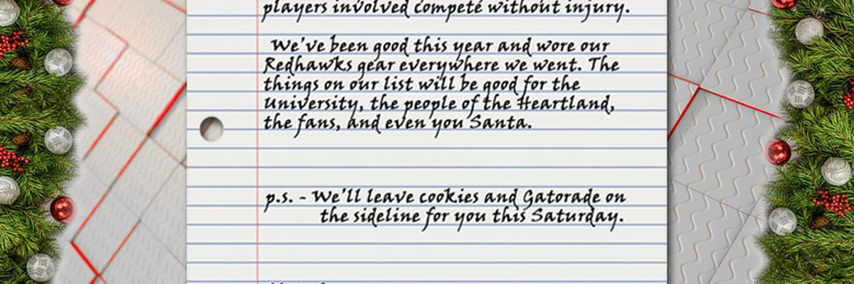 11/27/18: A letter to Santa from SEMO Fans