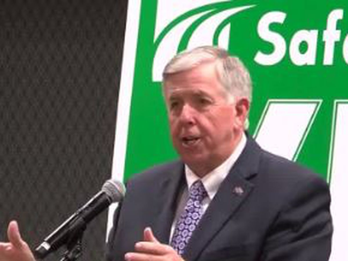 Missouri Governor Parson discusses Proposition D on November ballot
