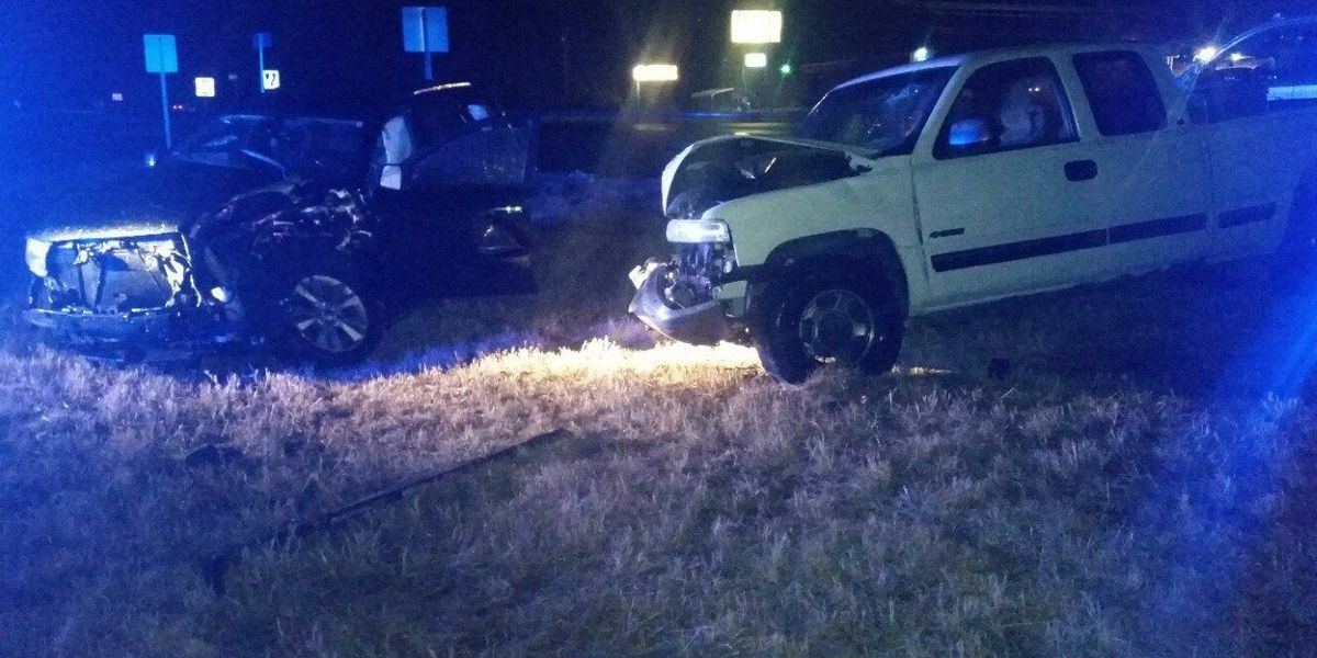 3 people injured in two-car crash in McCracken Co., KY