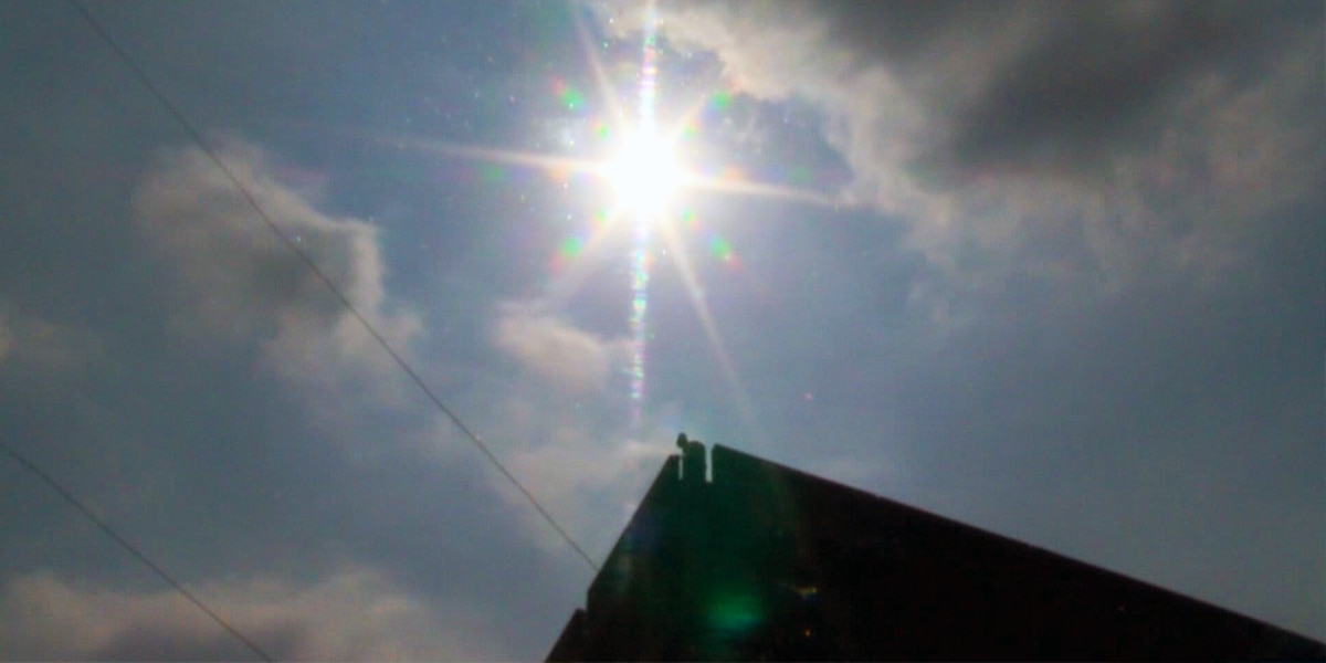 First Alert: Today could be the hottest day of the year so far