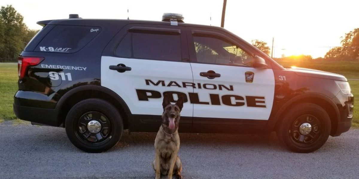 Marion, IL police mourn loss of K-9