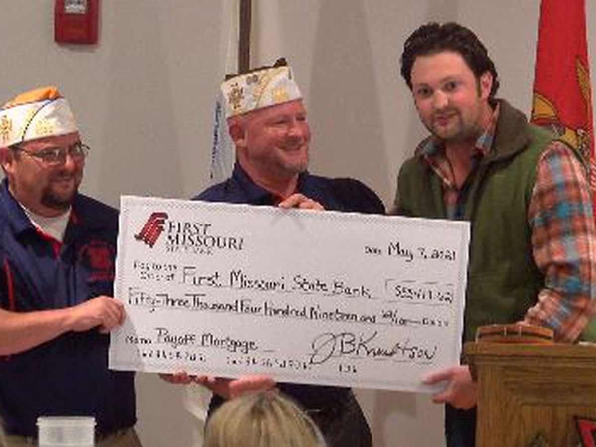 Cape Girardeau VFW pays off building