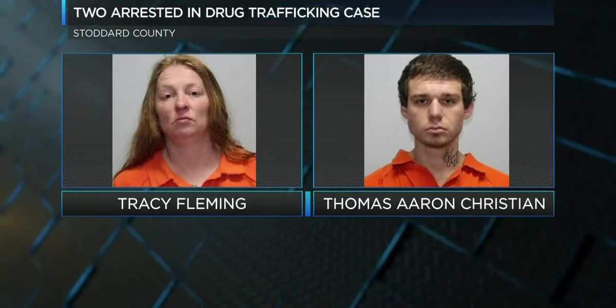 Two arrested in drug trafficking investigation in Stoddard County, Mo.