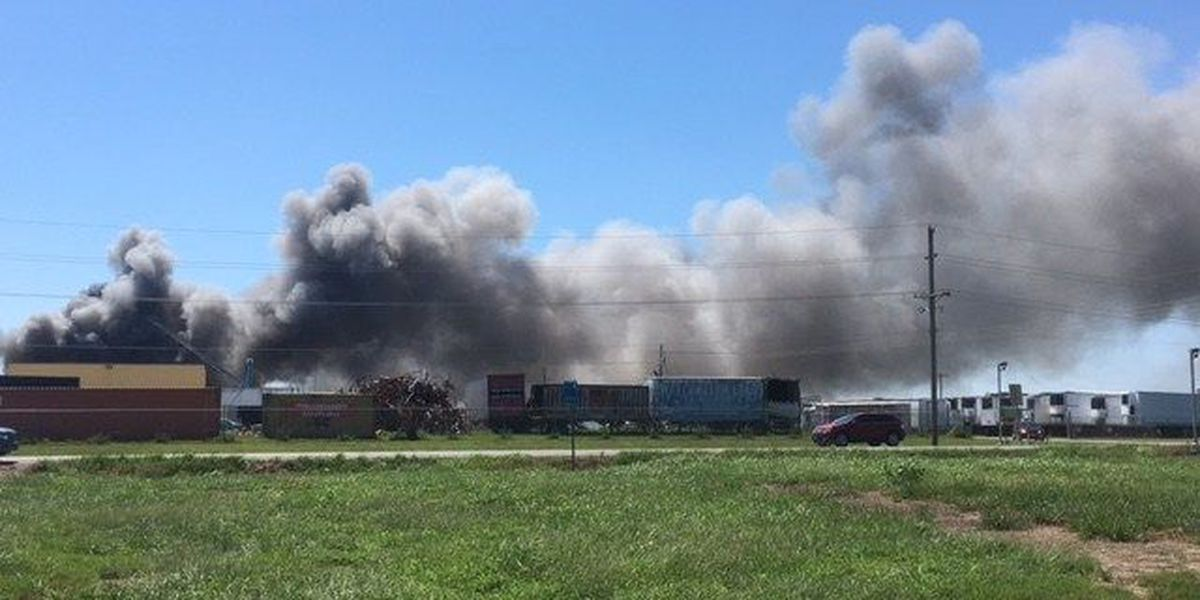 Crews extinguish 2-alarm fire at Cape Metal Recycling Center