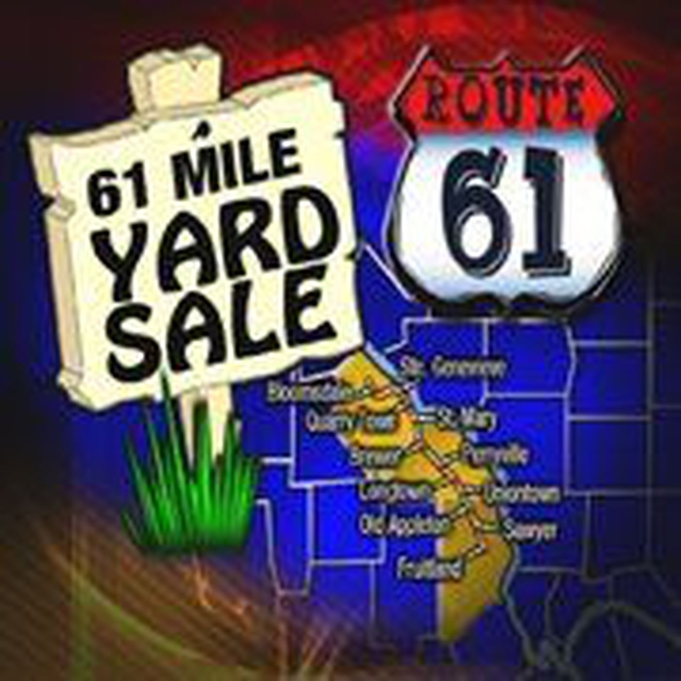61-mile Yard Sale Over Labor Day Weekend