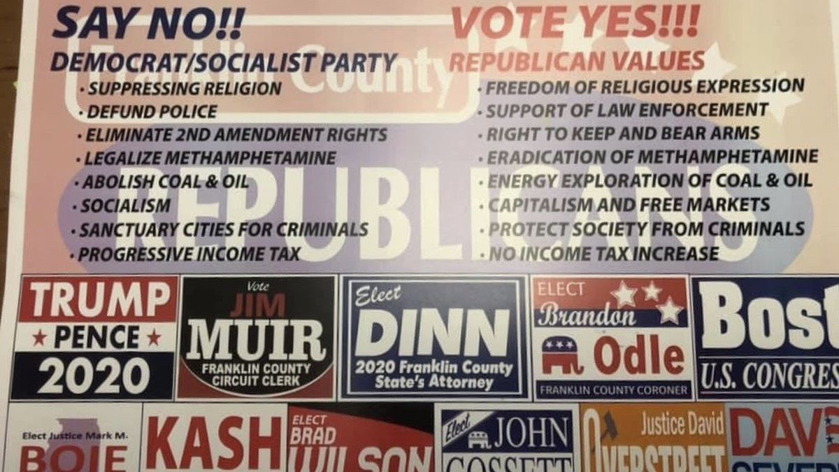 Some elected officials 'disappointed' with Franklin Co. Republican Party ad