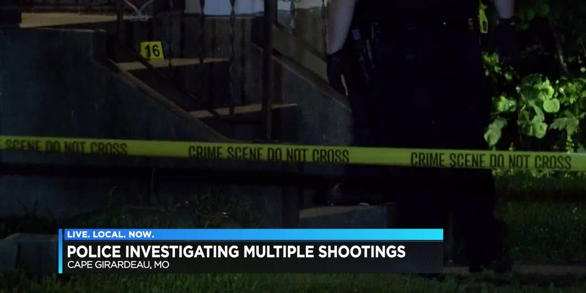 Three shootings in eight hours in Cape Girardeau