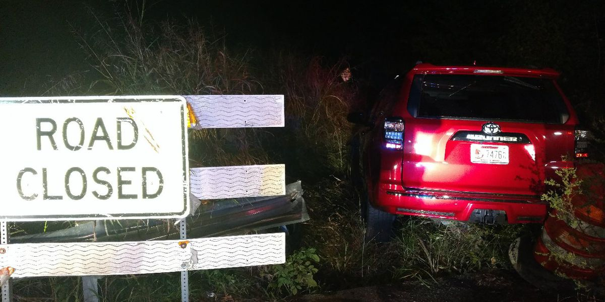 Woman drives past road closed sign, cited for DUI in McCracken Co.