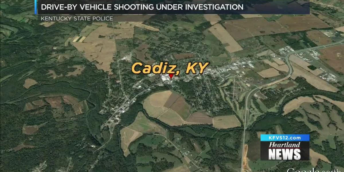 Drive-by shooting under investigation in Cadiz, KY