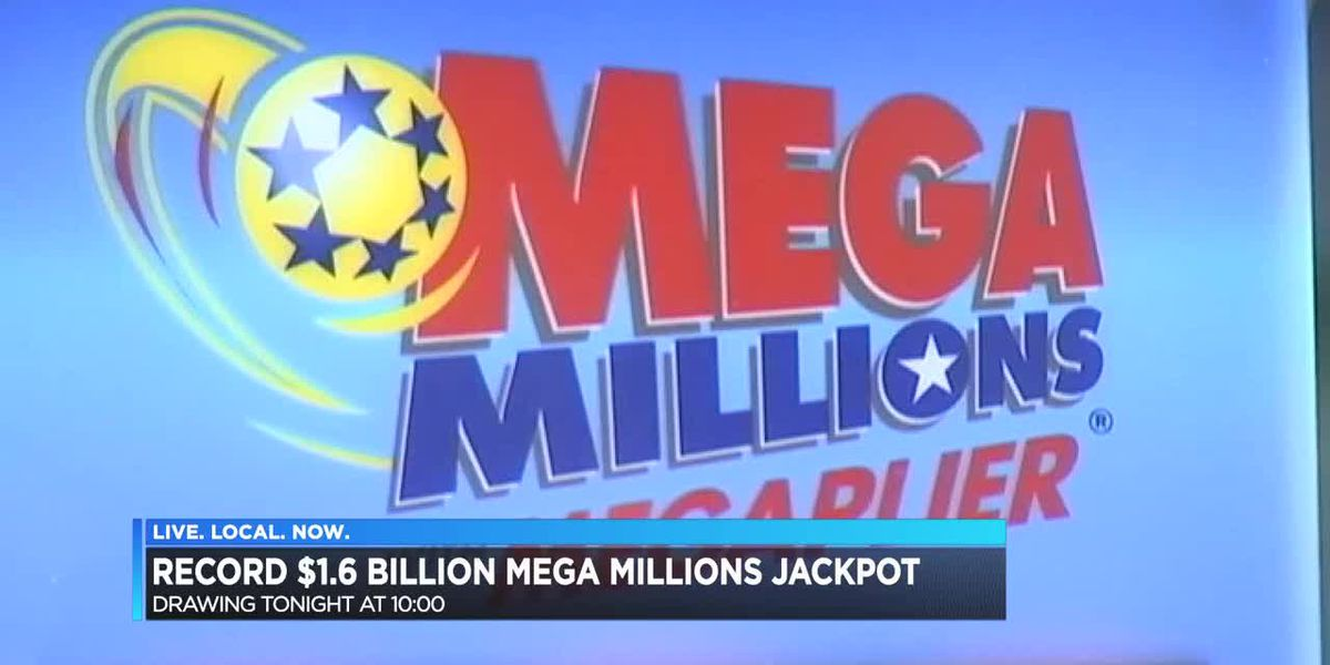 Record $1.6 Billion jackpot from Mega Millions