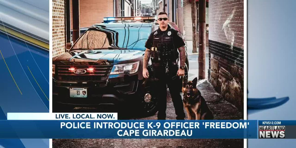 Cape Girardeau welcomes new K-9 officer