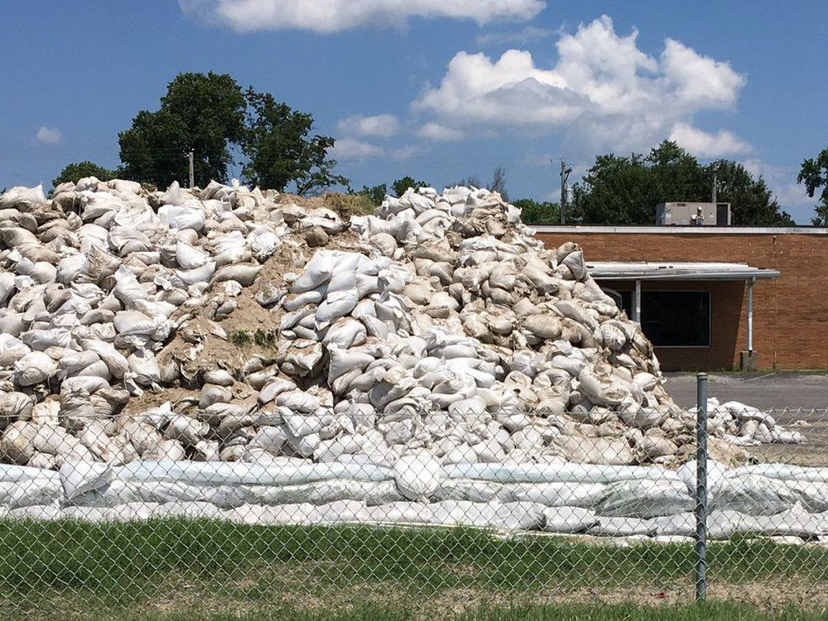 Sandbag removal from historic flooding is in the works