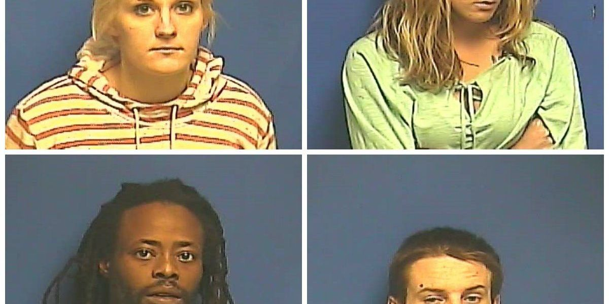 4 arrested after busts in Paducah, KY