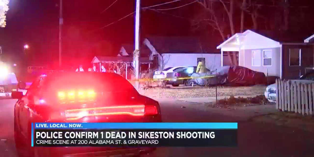 Shooting death investigation underway in Sikeston