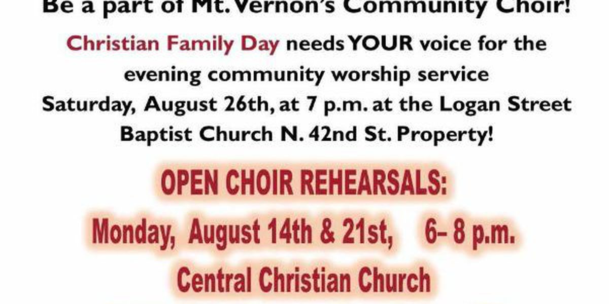 'Christian Family Day' coming to Mt. Vernon, IL