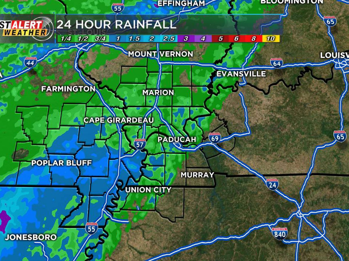 First Alert: Cold front brings heavy rain