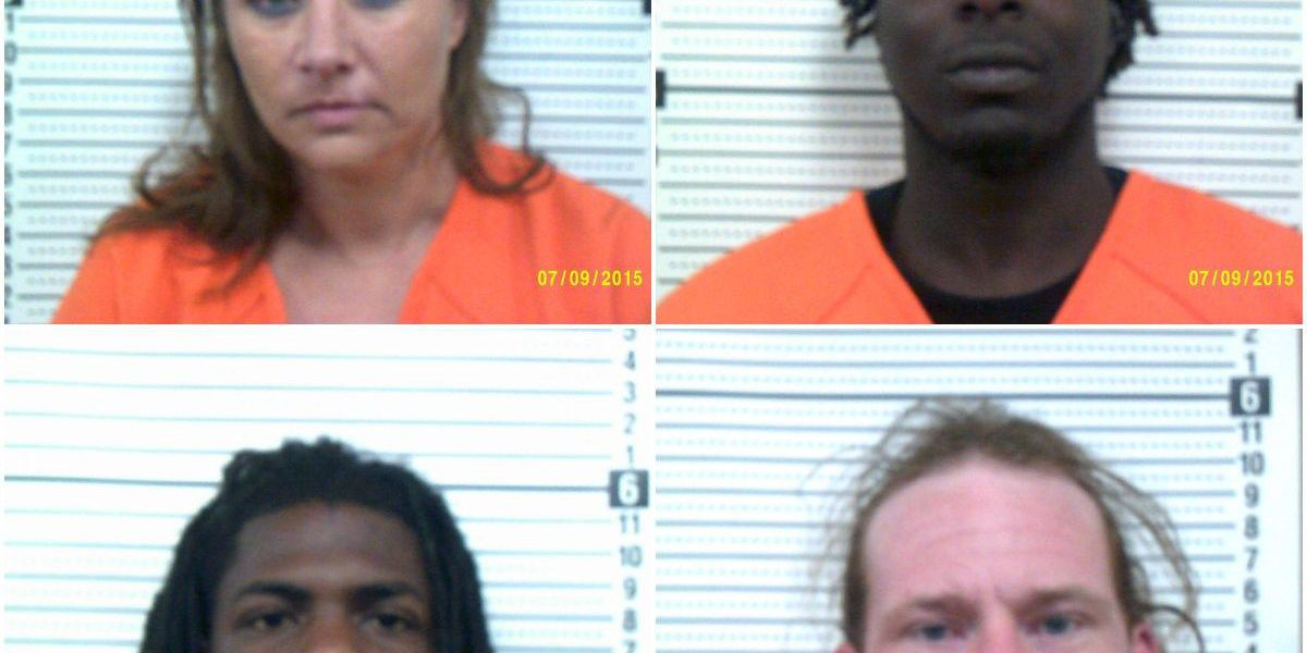 4 arrested on drug charges after traffic stop in Scott Co., MO