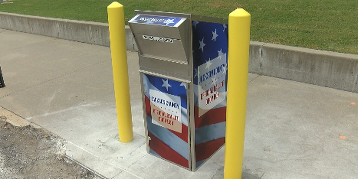 Jackson County, Ill. unveils ballot retrieval box