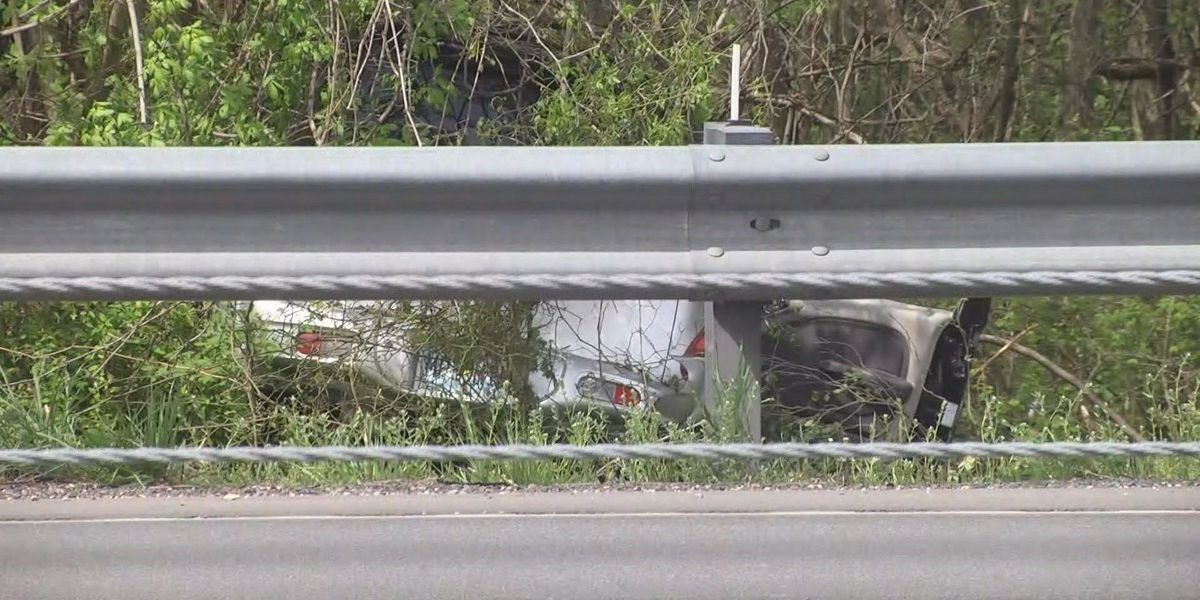 Crews on the scene of crash on I-55 in Cape Girardeau