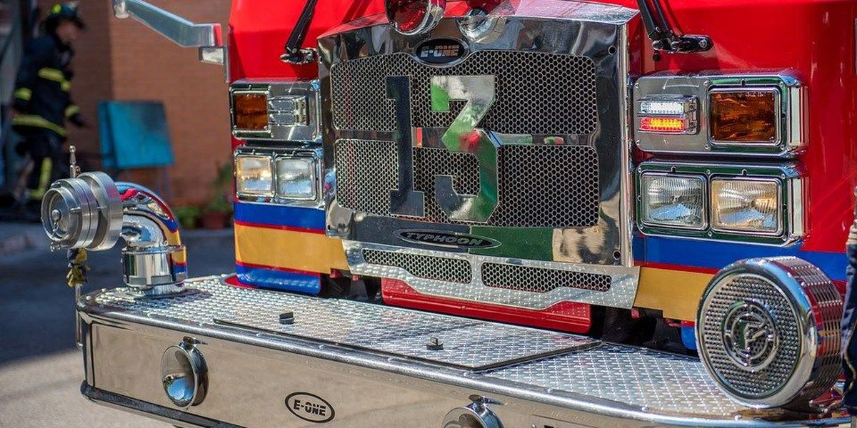 Herrin Fire Dept. donates ladder truck to Johnston City, IL